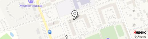 Кудривиль на карте Октябрьского