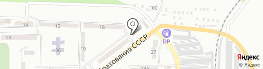 Дарина на карте Макеевки
