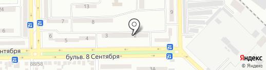 Аптека №492 на карте Макеевки