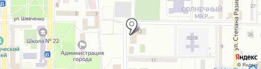 МакСтройИнвест на карте Макеевки