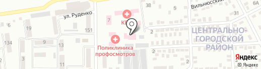 Макеевская городская поликлиника профосмотров на карте Макеевки