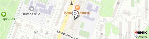 Зодиак на карте Балашихи