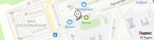 Телепорт+ТВ на карте Октябрьского