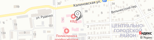 Городской кожно-венерологический диспансер г. Макеевки на карте Макеевки
