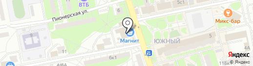ГАМ на карте Балашихи
