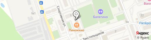 Центр Сервиса на карте Октябрьского