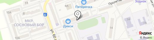 Наши дети на карте Октябрьского