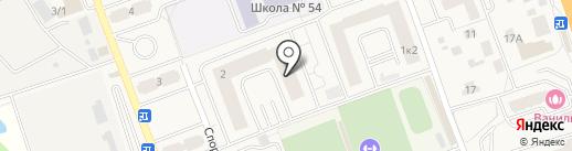 Калинка на карте Октябрьского