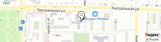 Макеевская общеобразовательная школа I-III ступеней №5 на карте Макеевки