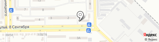 Почта Донбасса, ГП на карте Макеевки