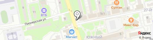 Деревня на карте Балашихи