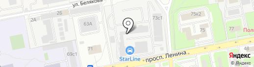 Sale techno на карте Балашихи