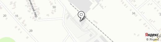 Производственная компания на карте Макеевки