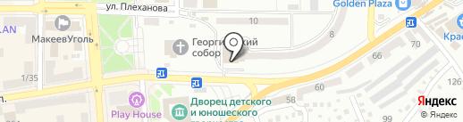 Вернисаж на карте Макеевки