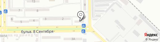 Отделение связи №50 на карте Макеевки