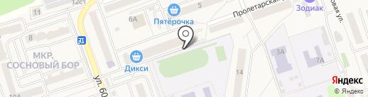 Ригла на карте Октябрьского