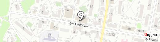 Ателье на карте Балашихи