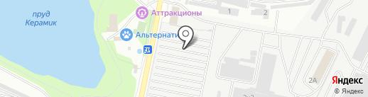 Росрезинатехника на карте Балашихи