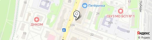 Мода fm на карте Балашихи