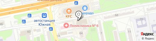 Repair на карте Балашихи