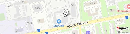 Автоплюс на карте Балашихи