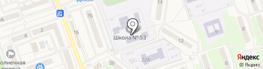 Спарта на карте Октябрьского