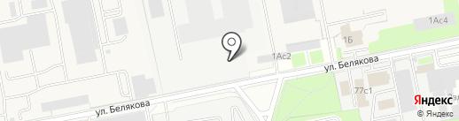 БЗ БЕТОН на карте Балашихи