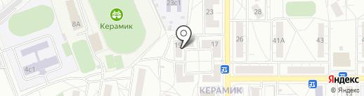 Мастерская по ремонту одежды на Керамической на карте Железнодорожного