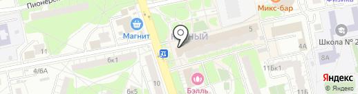 ВкусВилл на карте Балашихи