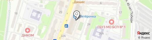 ТистройПром на карте Балашихи
