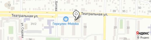 Qiwi на карте Макеевки