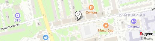 Магазин косметики и парфюмерии на карте Балашихи