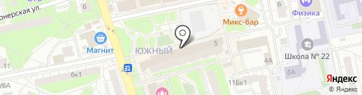 Пекарня №11 на карте Балашихи
