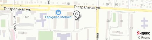 Архивный отдел Макеевского городского совета на карте Макеевки