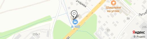 Автосервис на карте Долгого Ледово