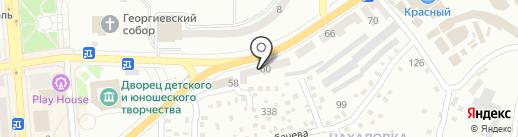 Денталюкс на карте Макеевки