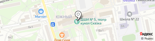 Читай-город на карте Балашихи