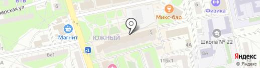 Мясной привоз на карте Балашихи