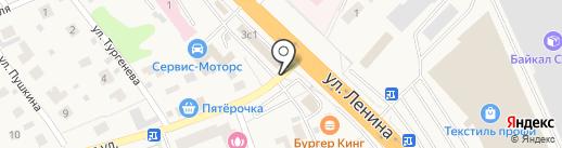 Вячесан на карте Октябрьского