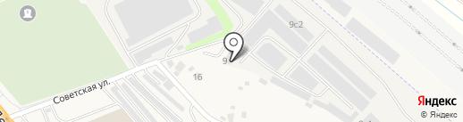 Трио-Сервис на карте Октябрьского