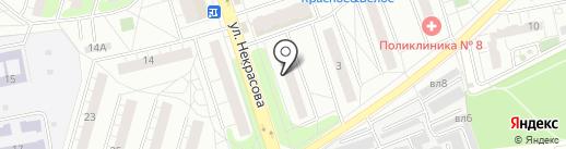 Мировые судьи Балашихинского района на карте Балашихи