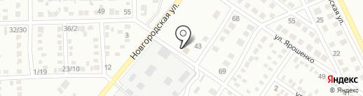 СВЧ на карте Макеевки