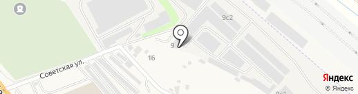 Элитлайн на карте Октябрьского