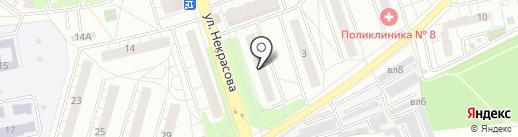 Бюро медико-социальной экспертизы по Московской области №1 на карте Балашихи