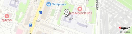 Полянка на карте Балашихи