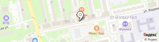 Ремонтная мастерская на карте Балашихи
