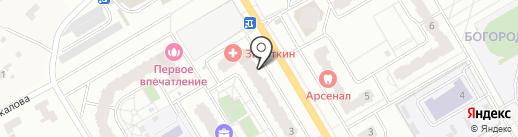 Плиткин дом на карте Щёлково