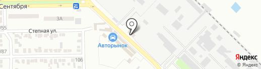 Автосауна Идеал, автомойка на карте Макеевки