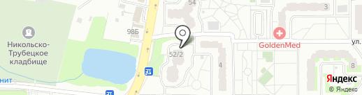 Дентамина на карте Балашихи