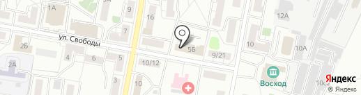 Сюрприз на карте Балашихи